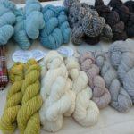 草曜舎の手紡ぎ毛糸