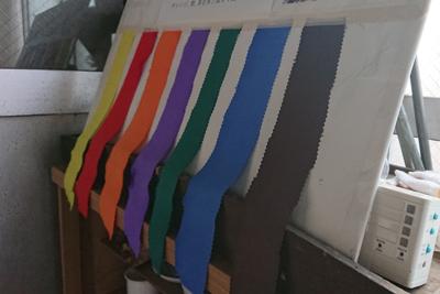 7つの元となる色見本