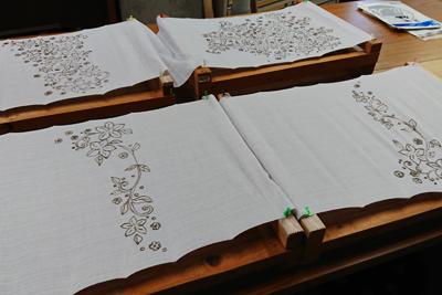 二葉苑の体験用布