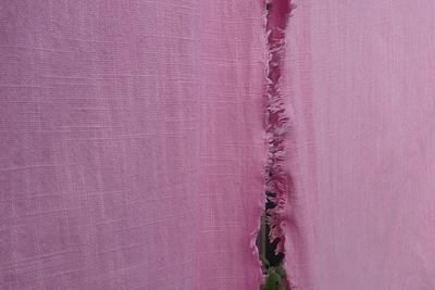 コチニールで鮮やかなピンク色