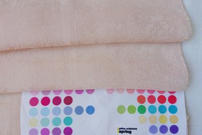 クヌギ染めパーソナルカラー比較