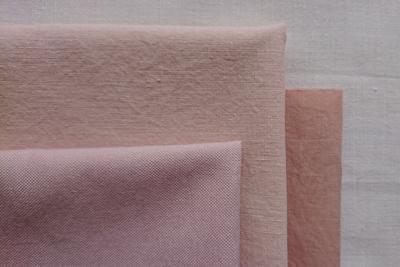 桜染めの色の違い