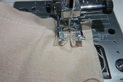 次の辺を縫う