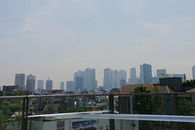 西新宿が見える