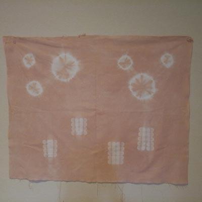 桜染めの木綿生地