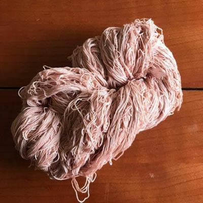 さくらんぼ染め木綿糸