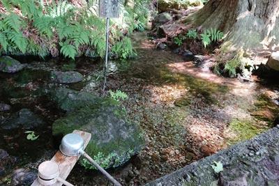 大滝湧き水