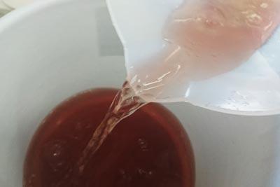 染液の酸化