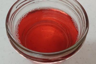 アボカド種の染液2番液酸化後