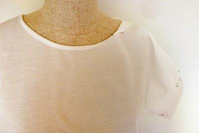 衿と袖の補正