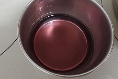ブドウ染液の色