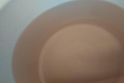 クエン酸水溶液の残液