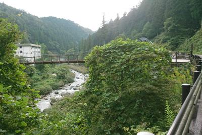 大平平公園の吊り橋