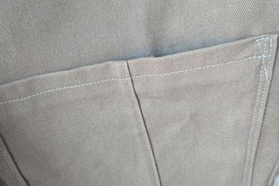 シミを隠した手作りポケット