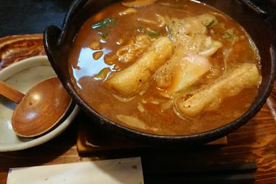 豊田市の味噌煮込みうどん