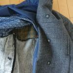 冬コート作り挑戦