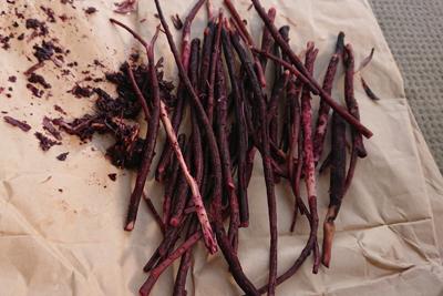 残りの紫根