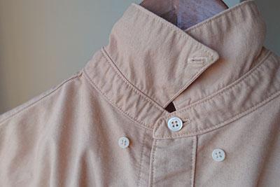 染色後のブルーベリーシャツ