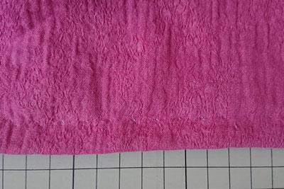 裾のまつり縫い