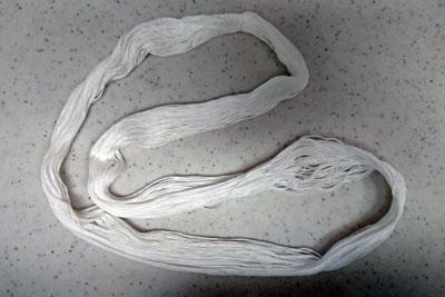 刺し子糸のカセの輪