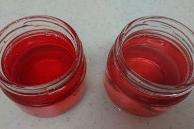 アボカドの種3番液の色酸化後