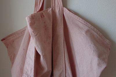 イチゴピンクの寸胴鍋専用バッグ