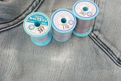 糸の色選び