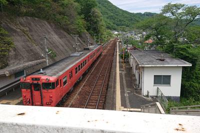 津山線牧山駅