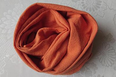 外来種染めサラシオレンジ