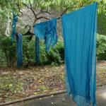 藍の生葉染め体験